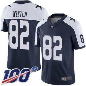 Cowboys Jason Witten 100th Season Jersey